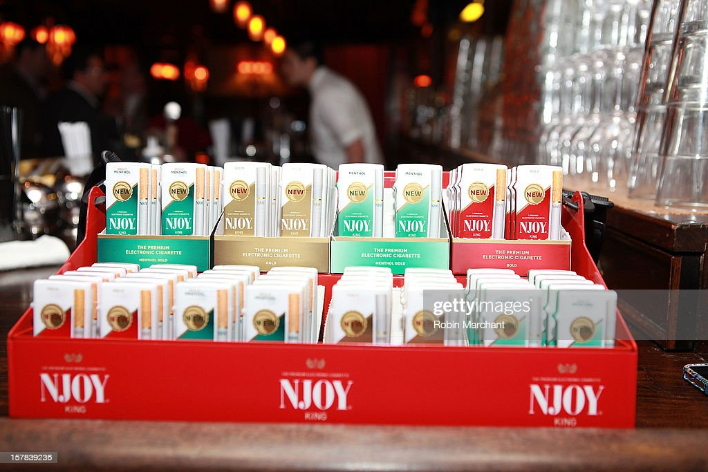 General view of atmosphere at the NJOY King Electric Cigarette launch event at The Jane Hotel on December 6, 2012 in New York City.