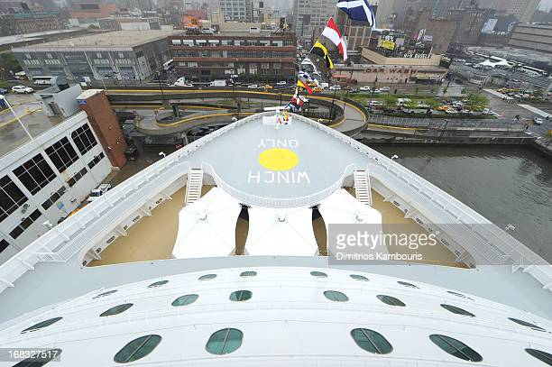 A general view of atmosphere at the Norwegian Breakaway Christening Ceremony on May 8 2013 in New York City