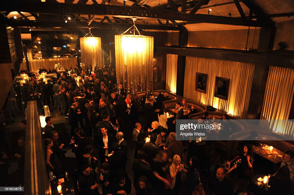 A general view of atmosphere at the opening night after party of 'Jekyll & Hyde' held at Beso on February 12, 2013 in Hollywood, California.