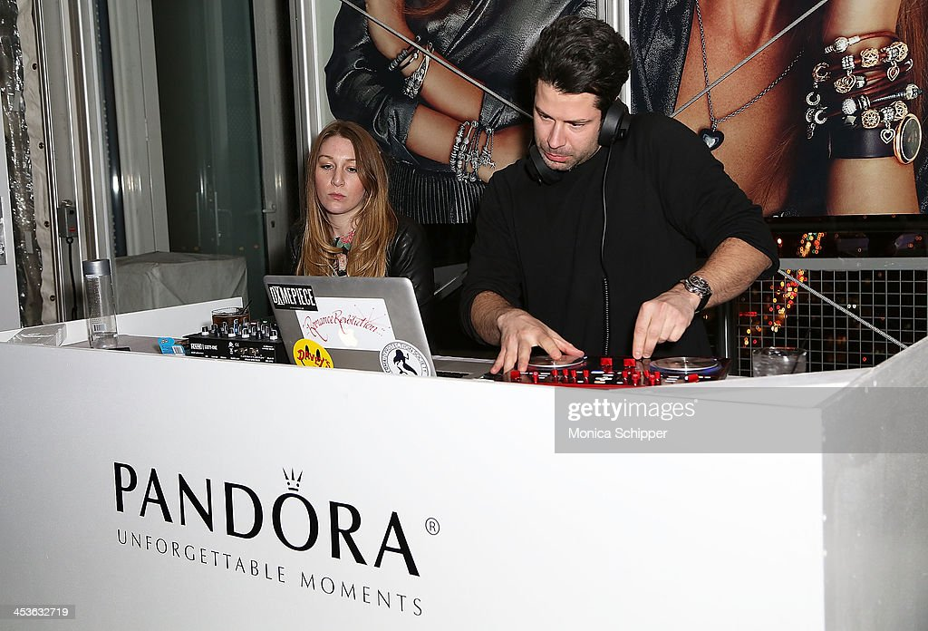 General view of atmosphere at the Pandora Happy Hour at Mondrian New York on December 4, 2013 in New York City.