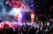 A general view of atmosphere at the Platinum Party during the 27th annual Nightclub Bar Convention and Trade Show at the Tao Nightclub at The...