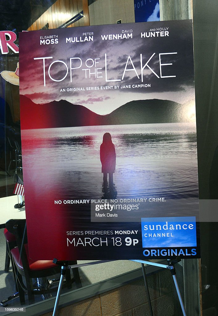 A general view of atmosphere at the press conference for Sundance Channel original series 'Top of the Lake' on January 21, 2013 in Park City, Utah.