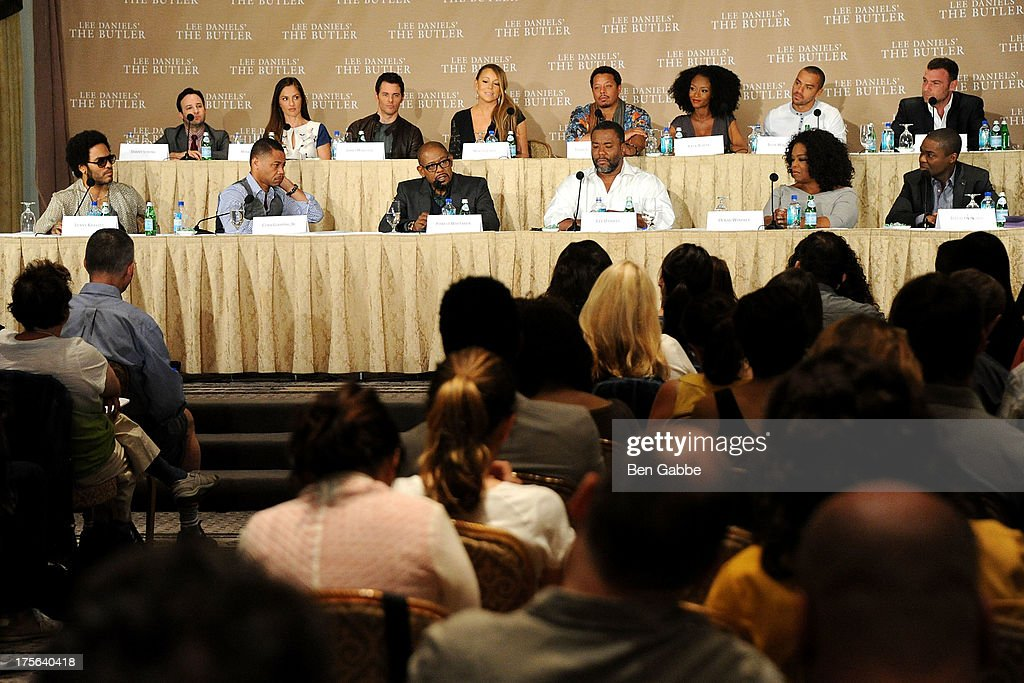 A general view of atmosphere at the press conference for The Weinstein Company's LEE DANIELS' THE BUTLER at Waldorf Astoria Hotel on August 5, 2013 in New York City.
