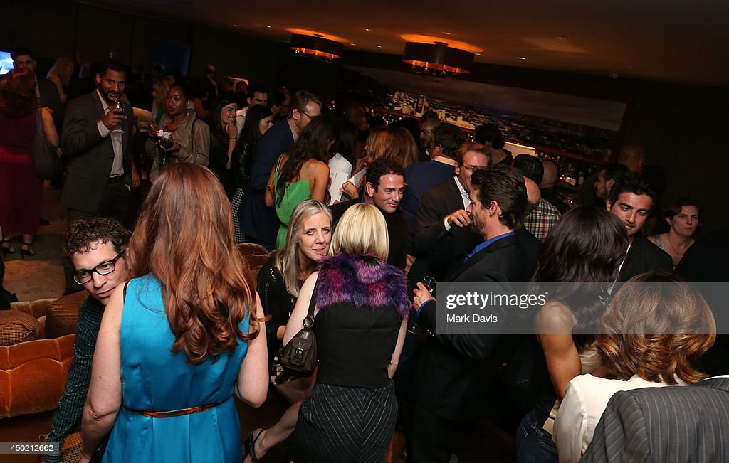A general view of atmosphere at the 'Producers Guild Digital VIP Event' held at Soho House on June 6, 2014 in West Hollywood, California.