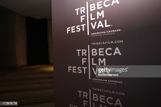 A general view of atmosphere at the Producers Reception during the 2011 Tribeca Film Festival at the Paramount Hotel on April 22 2011 in New York City