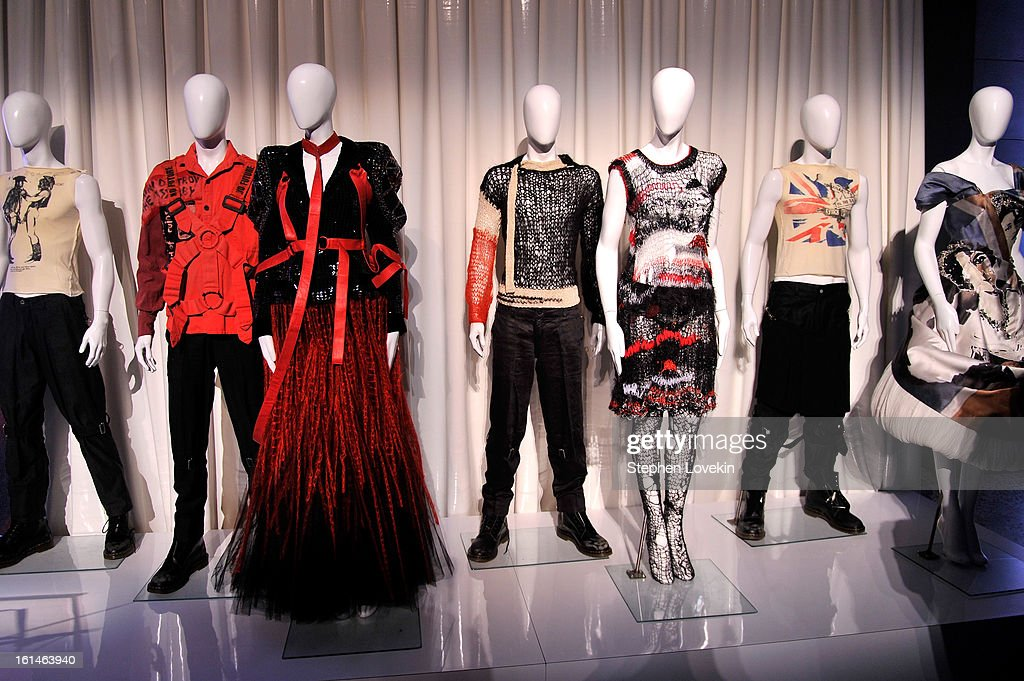 Chaos To Couture Press Preview at Metropolitan Museum of Art on February 11, 2013 in New York City.