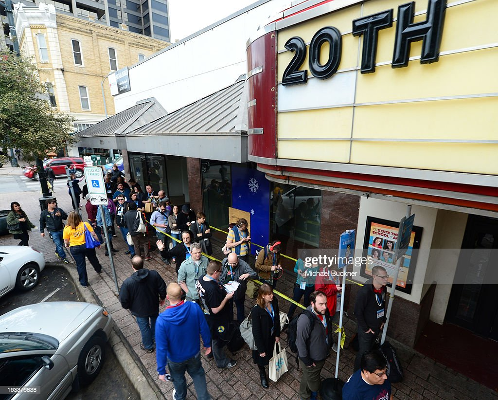 A general view of atmosphere at the screening of 'The Incredible Burt Wonderstone' during the 2013 SXSW Music, Film + Interactive Festival at the Paramount Theatre on March 8, 2013 in Austin, Texas.
