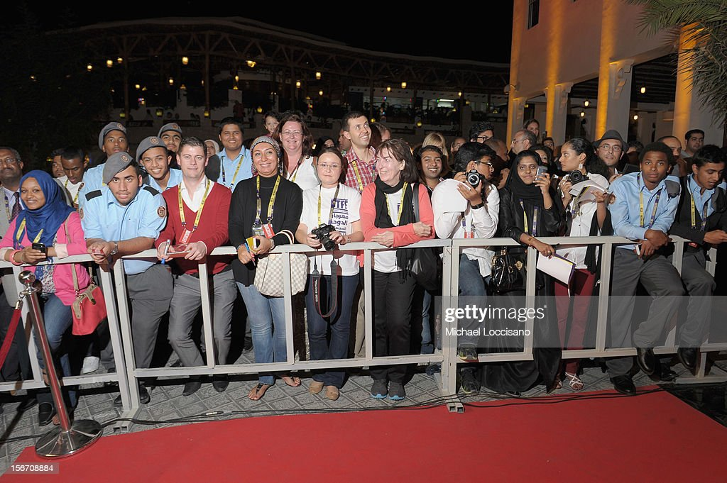 A general view of atmosphere at the 'Silver Linings Playbook' premiere at the Al Mirqab Hotel during the 2012 Doha Tribeca Film Festival on November 19, 2012 in Doha, Qatar.