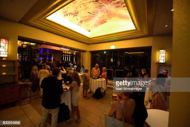 A general view of atmosphere at the 'Soiree at Spago' during day two of the 2017 Maui Film Festival At Wailea on June 22 2017 in Wailea Hawaii