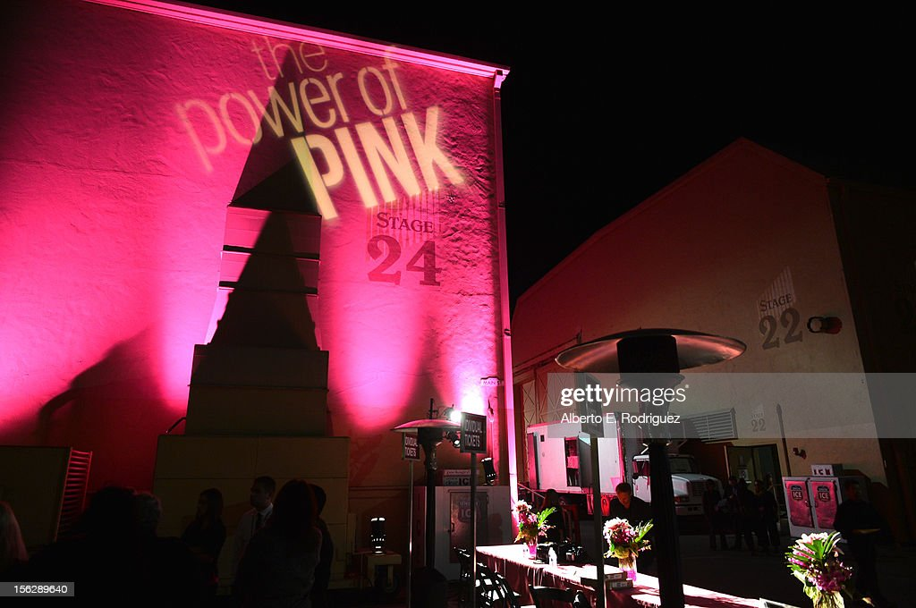 General view of atmosphere at the St. John's Health Center's Power Of Pink benefiting The Margie Petersen Breast Center at Sony Studios on November 12, 2012 in Los Angeles, California.
