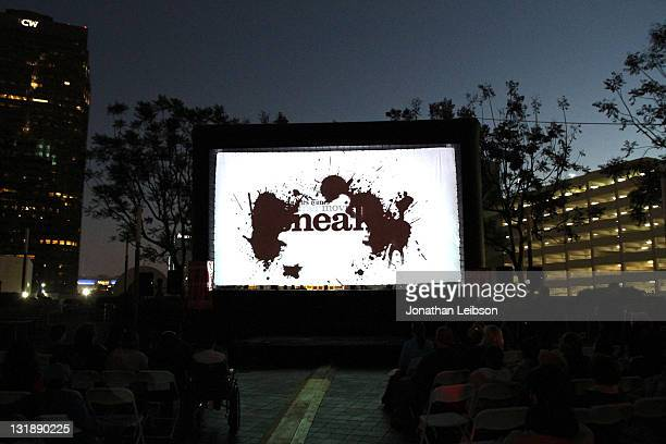 A general view of atmosphere at the 'Stand By Me' Free Outdoor Screening during the 2011 Los Angeles Film Festival at FIGat7th on June 19 2011 in Los...