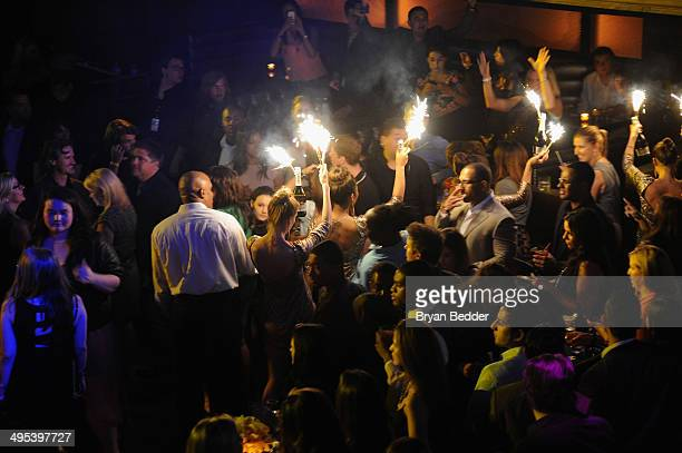 General view of atmosphere at the Starz 'Power' premiere after party at Highline Ballroom on June 2 2014 in New York City
