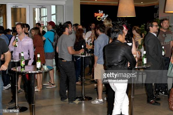 a general view of atmosphere at the sundance shortslab la at google office on august 11 atmosphere google office