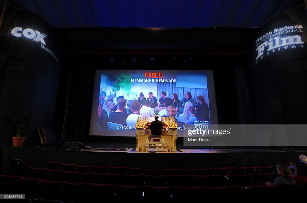 A general view of atmosphere at the Super Silent Sunday at the Arlington Theater during the 31st Santa Barbara International Film Festival on February 7, 2016 in Santa Barbara, California.