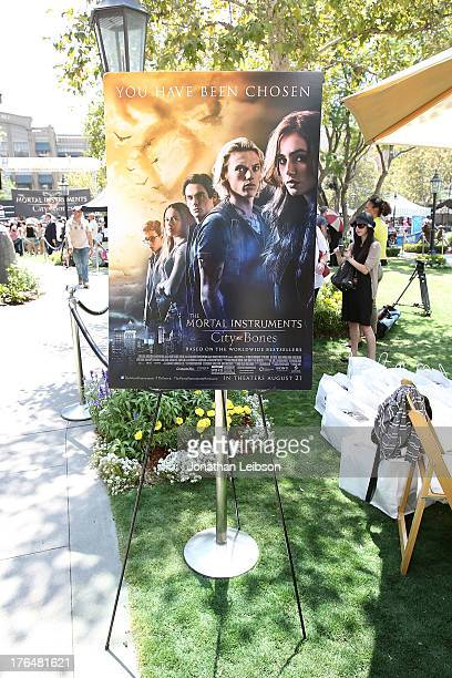 A general view of atmosphere at the 'The Mortal Instruments City Of Bones' meet and greet at The Americana at Brand on August 13 2013 in Glendale...