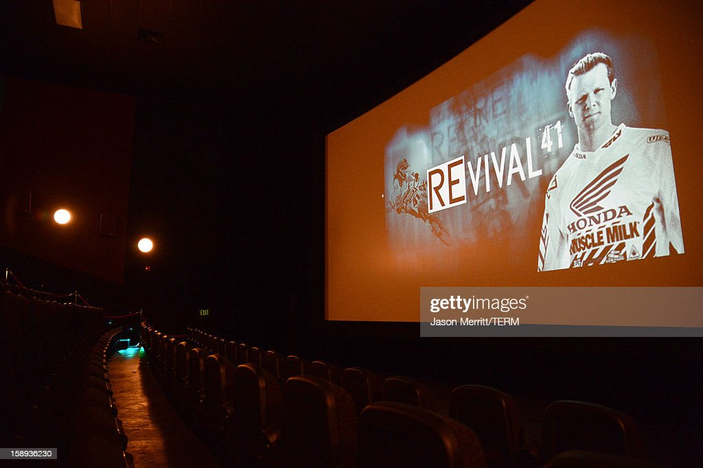 A general view of atmosphere at the Trey Canard 'REvival 41' premiere held at UltraLuxe Cinemas at Anaheim GardenWalk on January 3, 2013 in Anaheim, California.