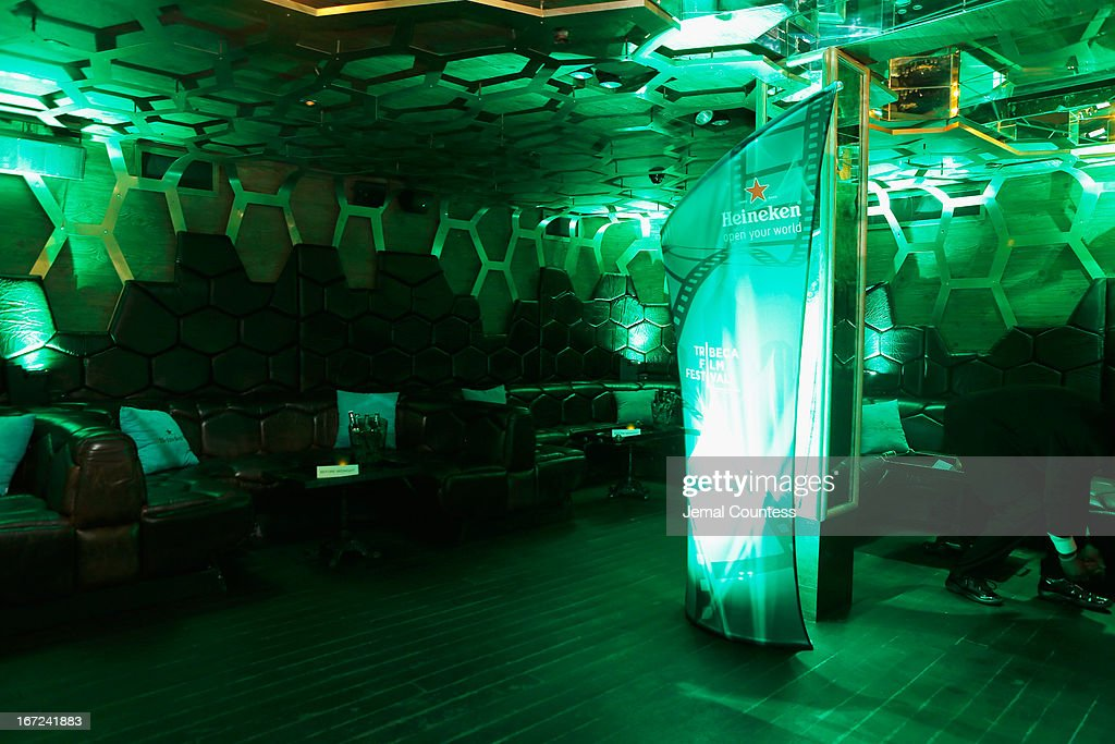 A general view of atmosphere at the Tribeca Film Festival 2013 After Party 'Before Midnight' sponsored by Heineken on April 22, 2013 in New York City.