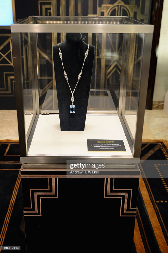 A general view of atmosphere at the unveiling of Tiffany's Fifth Avenue windows celebrating Jazz Age glamour, evoking the spirit of Baz Luhrmann's highly anticipated adaptation of 'The Great Gatsby' on April 17, 2013 in New York City.