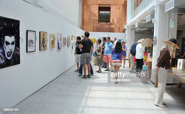 a general view of atmosphere at the venice family clinic 34th annual venice art walk auctions atmosphere google office