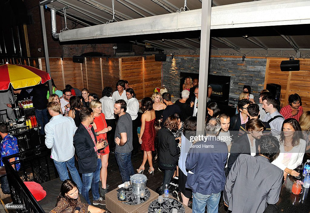 General view of atmosphere at the vitaminwater post party for the cast of 'Spring Breakers' during the 2012 Toronto International Film Festivalat Brassaii on September 7, 2012 in Toronto, Canada.