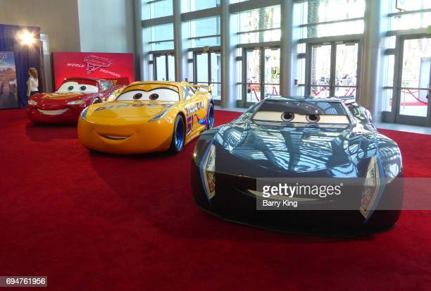 A general view of atmosphere at the World Premiere of Disney and Pixar's 'Cars 3' at Anaheim Convention Center on June 10 2017 in Anaheim California