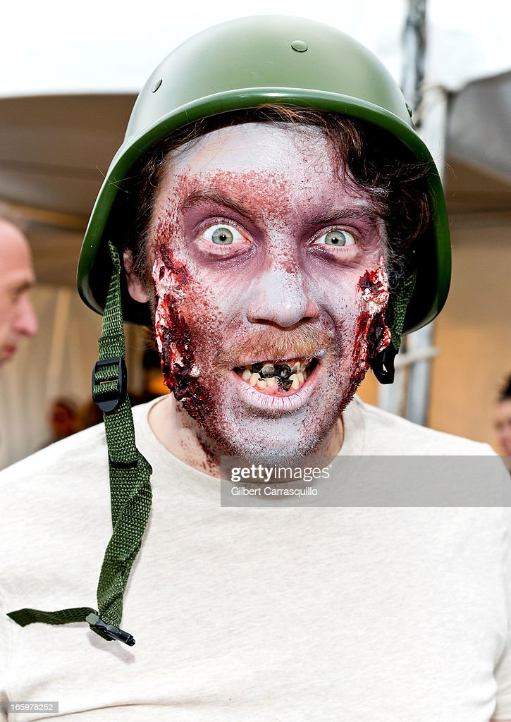 A general view of atmosphere at the Zombie Run U.S. 2013 Tour Kickoff on April 7, 2013 in Philadelphia, Pennsylvania.