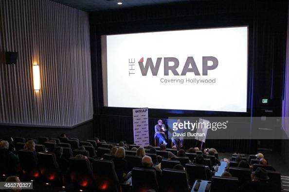 A general view of atmosphere at TheWrap's Awards Foreign Screening Series 'The Porcelain Horse' at the Landmark Theater on December 11 2013 in Los...