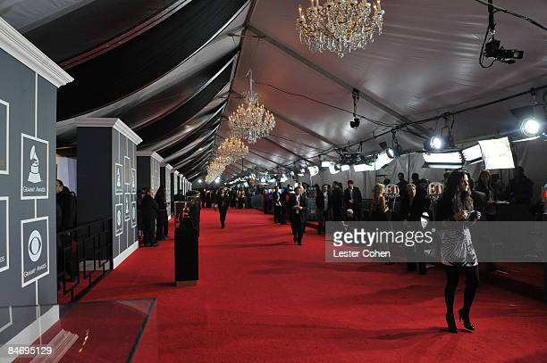 A general view of atmosphere at to the 51st Annual GRAMMY Awards held at the Staples Center on February 8 2009 in Los Angeles California