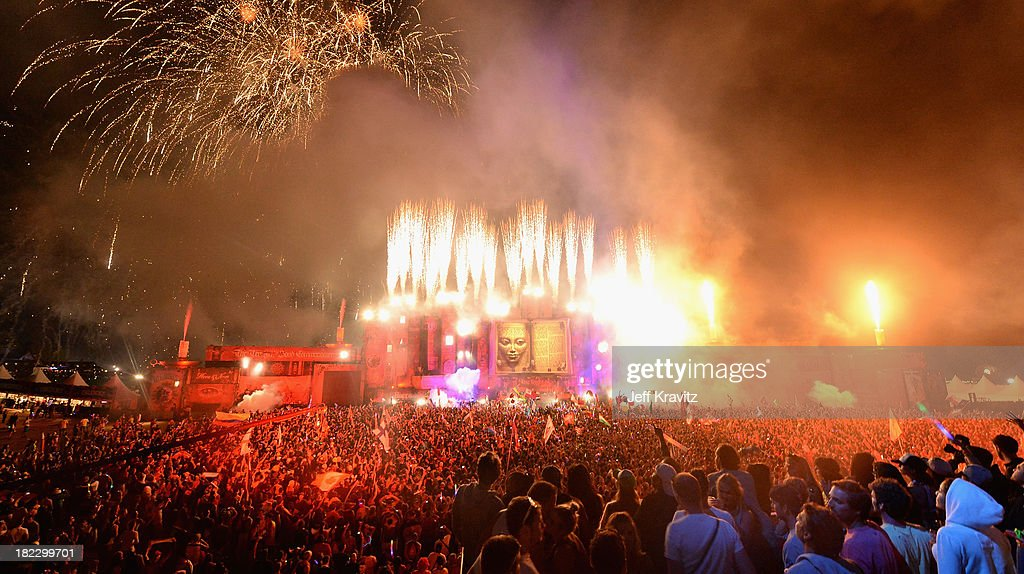 A general view of atmosphere at TomorrowWorld Electronic Music Festival on September 28, 2013 in Chattahoochee Hills, Georgia.