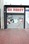 "USA Network's MR. ROBOT E-Corp ""Bank of E"" at San Diego..."