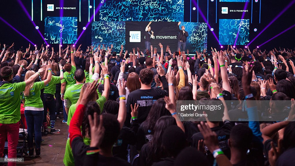 A general view of atmosphere at WE Day Chicago at Allstate Arena on April 28, 2016 in Chicago, Illinois.