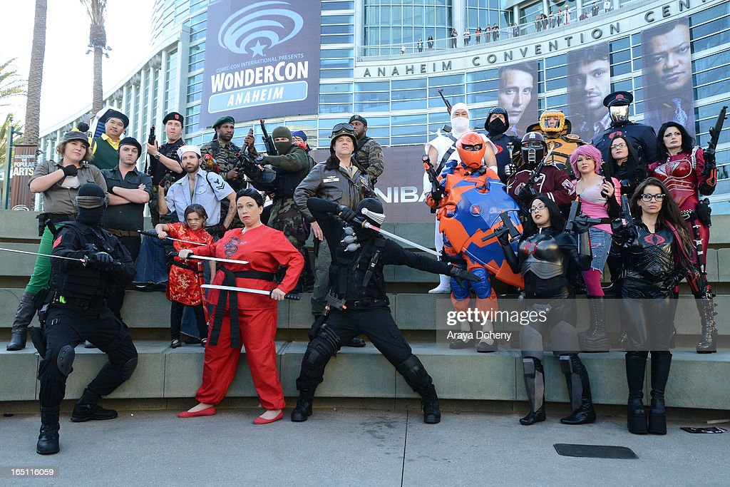 A general view of atmosphere at WonderCon Anaheim 2013 - Day 2 at Anaheim Convention Center on March 30, 2013 in Anaheim, California.