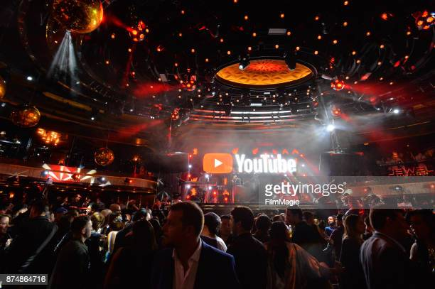 A general view of atmosphere at YouTube Musica sin fronteras A Celebration of Latin Music at Jewel Nightclub at the Aria Resort Casino on November 15...