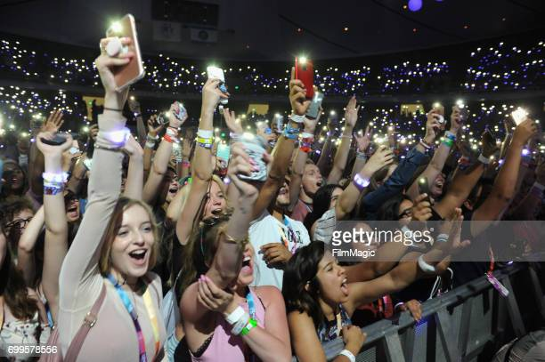 A general view of atmosphere at #YouTubeOnstage at VidCon 2017 at Anaheim Convention Center on June 21 2017 in Anaheim California