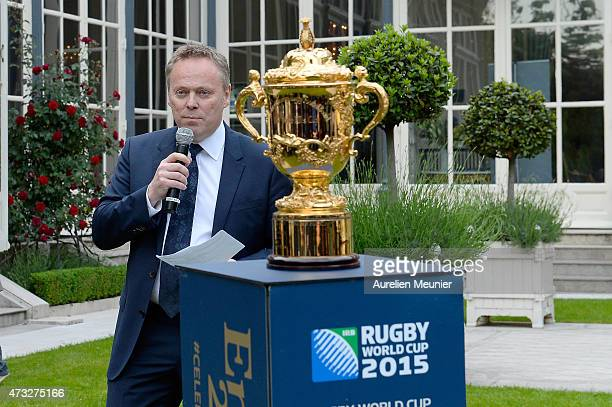 A general view of atmosphere during a reception held at the British Embassy Residence during the Rugby World Cup Trophy Tour in partnership with Land...