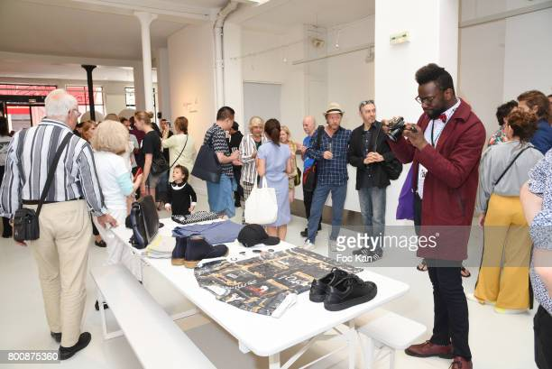 A general view of atmosphere during Agnes B Menswear Spring/Summer 2018 show as part of Paris Fashion Week ton June 25 2017 in Paris France