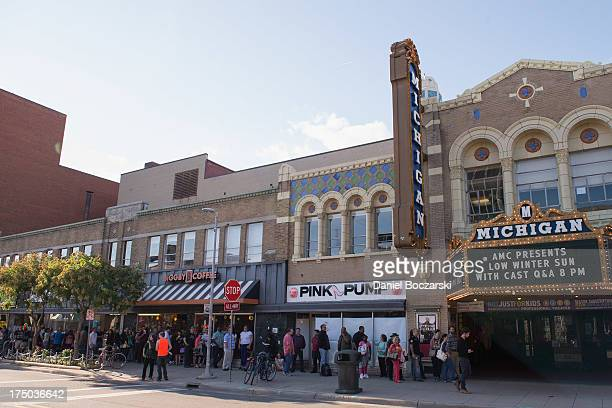 A general view of atmosphere during AMC's 'Low Winter Sun' cast QA with Art House Convergence on July 29 2013 in Ann Arbor Michigan