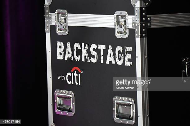 A general view of atmosphere during Backstage with Citi John Legend Katie Couric at Citibank on June 4 2015 in Long Island City New York