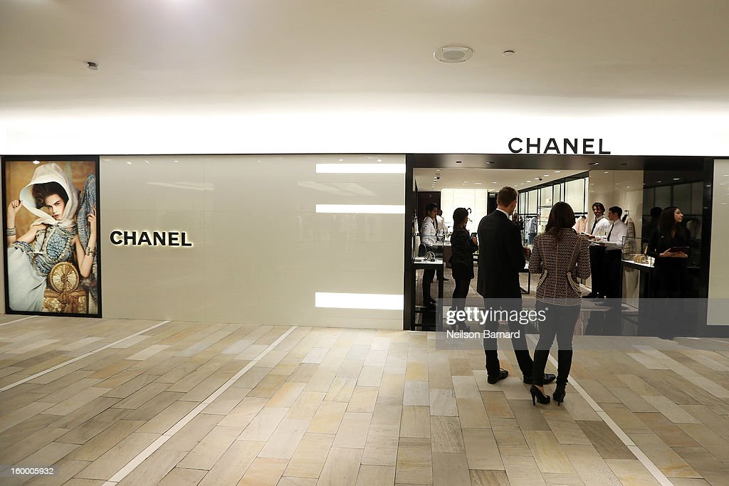A general view of atmosphere during Bloomingdale's celebration of the newly renovated Chanel RTW Boutique at Bloomingdale's 59th Street Store on January 24, 2013 in New York City.