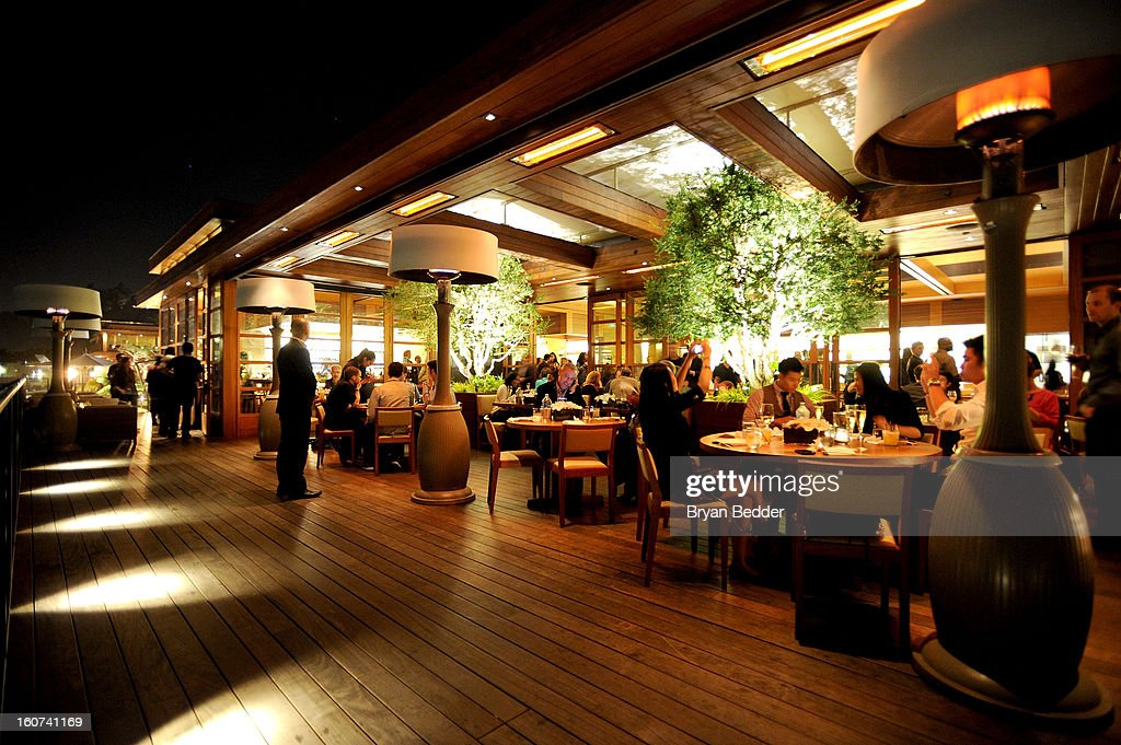 A general view of atmosphere during Chef Nobuyuki Matsuhisa's hosted private dinner at Nobu Malibu to celebrate Delta Air Lines' Nonstop NYC challenge on Feb. 4, 2013 in Los Angeles, California.