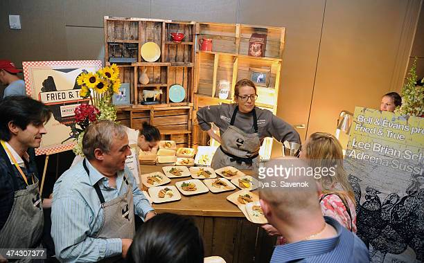 A general view of atmosphere during Chicken Coupe Hosted By Andrew Carmellini during the Food Network South Beach Wine Food Festival at Ballroom at W...