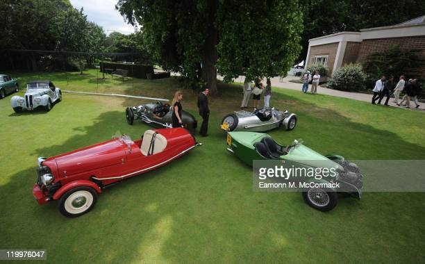 A general view of atmosphere during Concours D'Elegance at The Hurlingham Club on July 27 2011 in London England