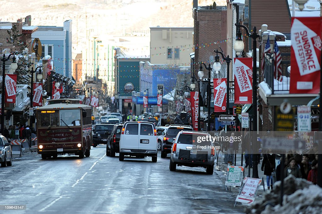 A general view of atmosphere during Day 1 at the 2013 Sundance Film Festival on January 17, 2013 in Park City, Utah.