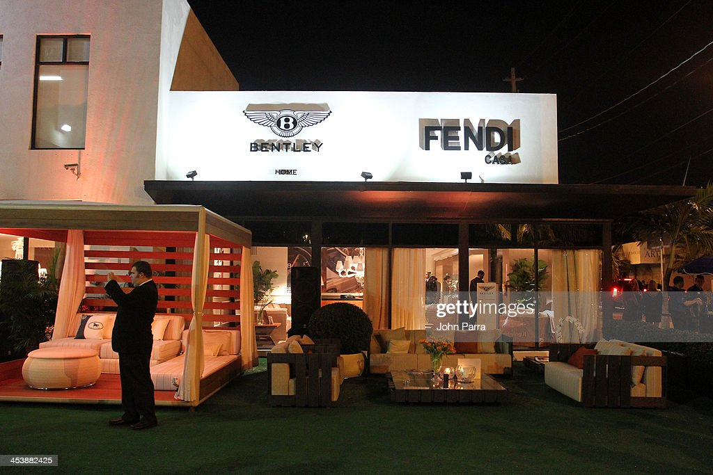 A general view of atmosphere during Fendi Casa Art Basel cocktail party on December 5, 2013 in Miami, Florida.