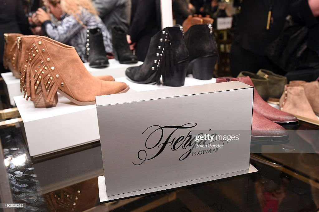 A general view of atmosphere during Fergie's appearance for Fergie Footwear at Lord & Taylor on October 15, 2015 in New York City.