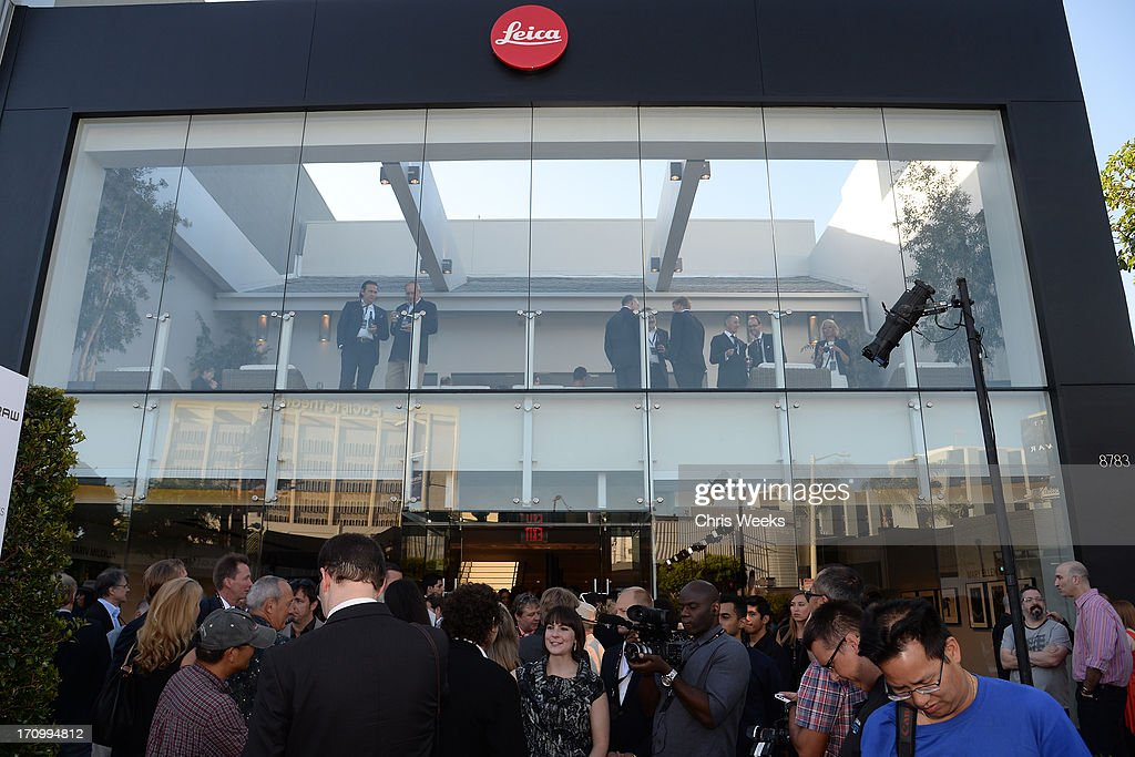 A general view of atmosphere during G-Star RAW unveils RAW Leica at the Leica store opening on June 20, 2013 in West Hollywood, California.
