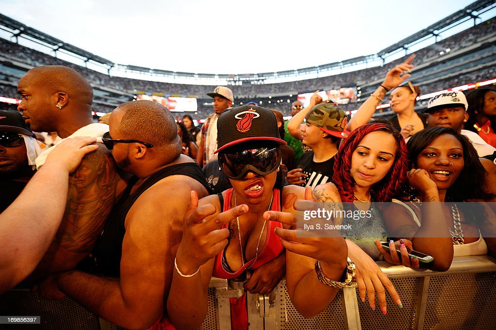 A general view of atmosphere during HOT 97 Summer Jam XX at MetLife Stadium on June 2, 2013 in East Rutherford, New Jersey.