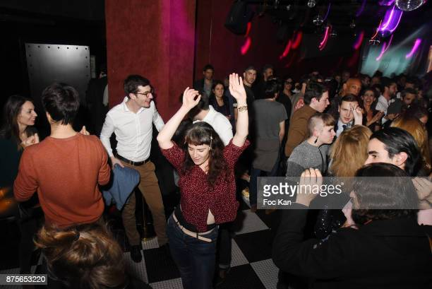 A general view of atmosphere during 'Le Temps Retrouve' Party at Les Bains on November 17 2017 in Paris France