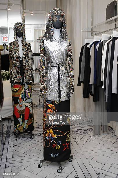General view of atmosphere during Maison Martin Margiela celebrates its Spring Summer 2014 Artisanal Collection on September 4 2014 in New York City