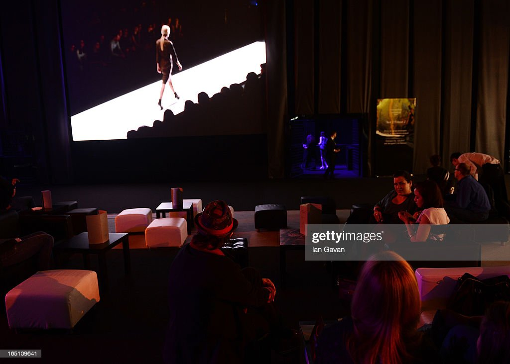 A general view of atmosphere during Mercedes-Benz Fashion Week Russia Fall/Winter 2013/2014 at Manege on March 30, 2013 in Moscow, Russia.